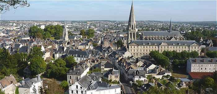 Ville de Vendôme dans le Loir et Cher