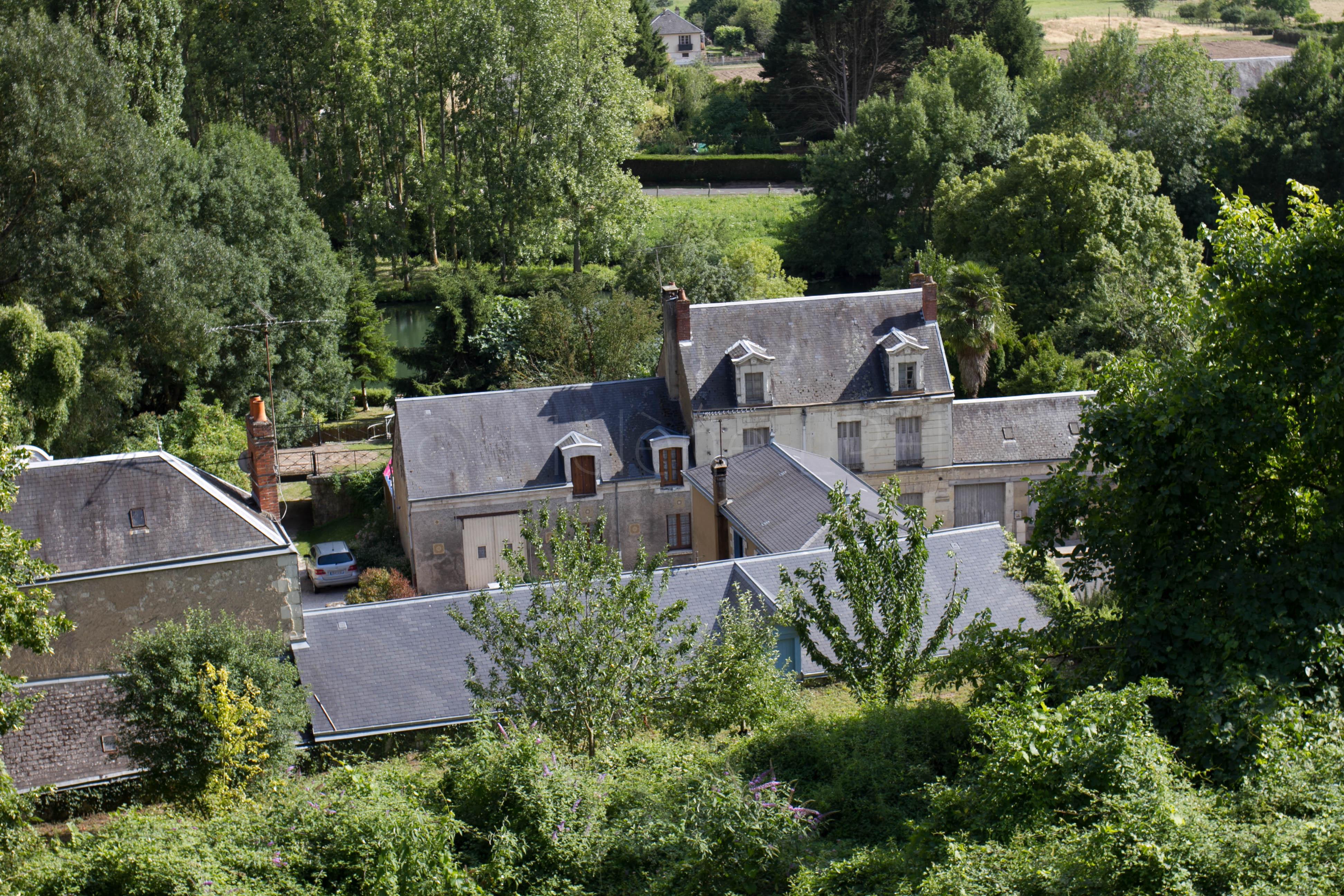 Village de Trôo en Loir et Cher